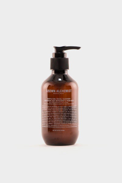 Grown Alchemist Gentle Gel Cleanser Geranium Leaf, Bergamot & Rose-Bud -