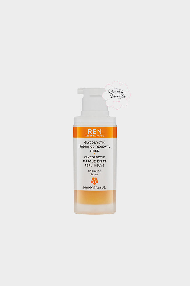 REN Radiance Glycolactic Radiance Renewal Mask 50ml -
