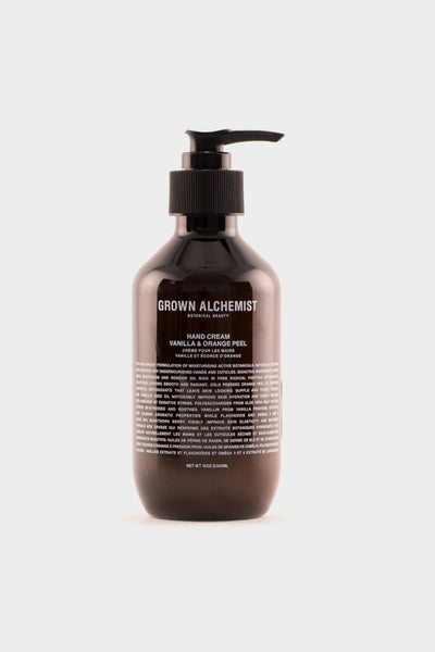 Grown Alchemist Vanilla and Orange Peel Hand Cream 300ml -