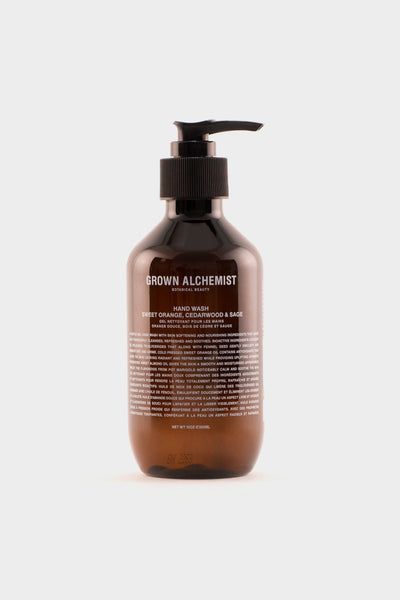 Grown Alchemist Hand Wash Sweet Orange, Cedarwood & Sage -