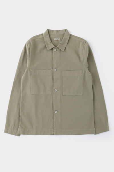 Knickerbocker Chore Shirt Military Green
