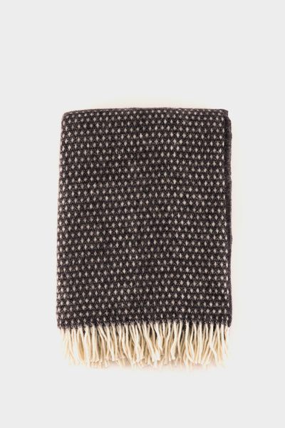 Klippan Knut Throw Dark Grey