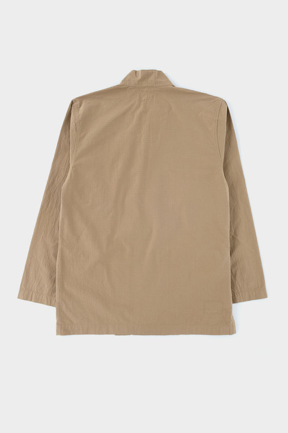Universal Works Kyoto Work Jacket Ripstop Cotton - Sand