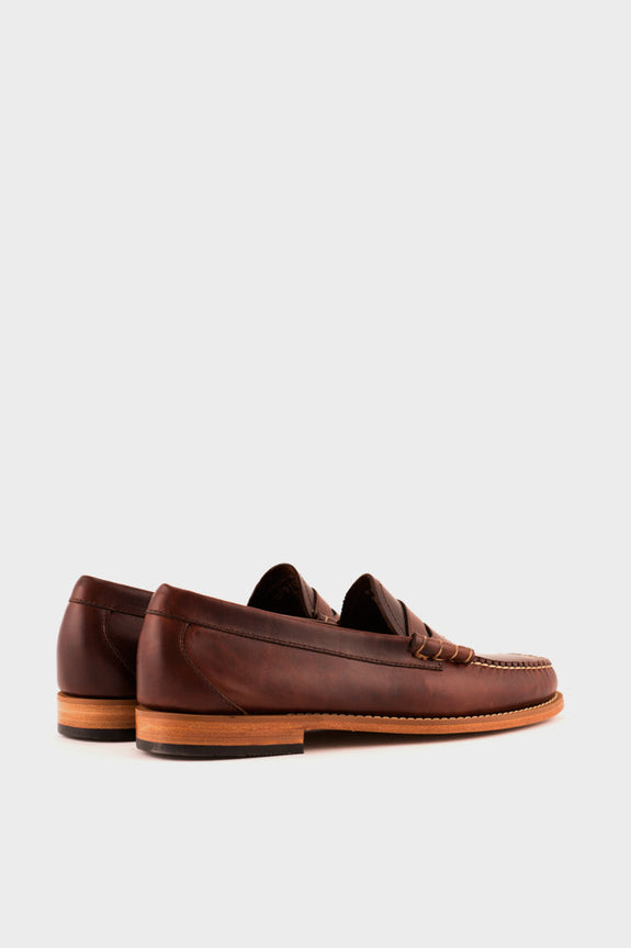 Weejuns Larson Loafer Dark Brown Leather -  - 2
