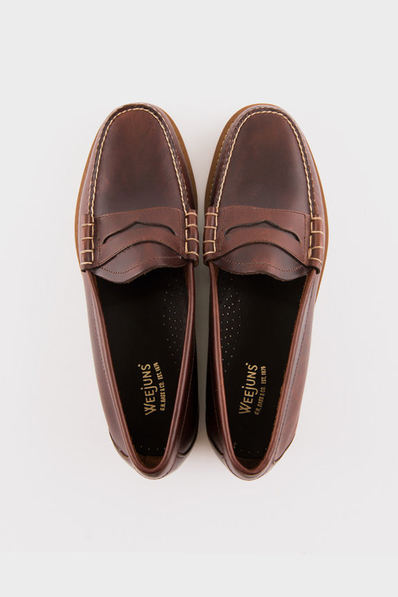 Weejuns Larson Loafer Dark Brown Leather -  - 4