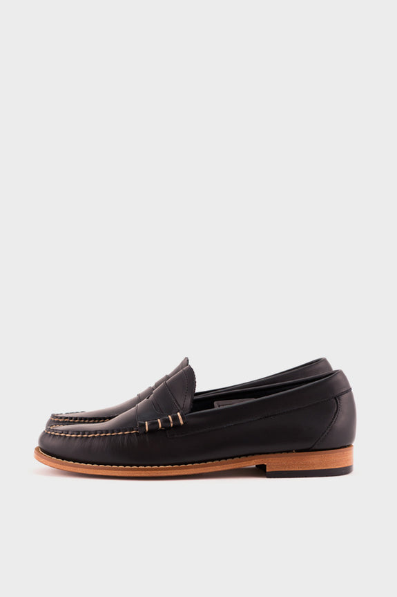 Weejuns Larson Loafer Navy Leather -  - 1