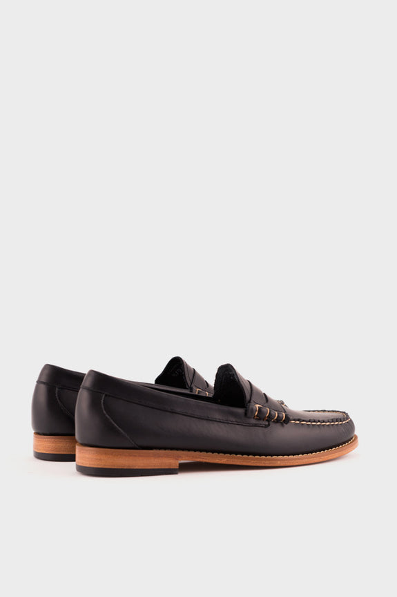 Weejuns Larson Loafer Navy Leather -  - 3