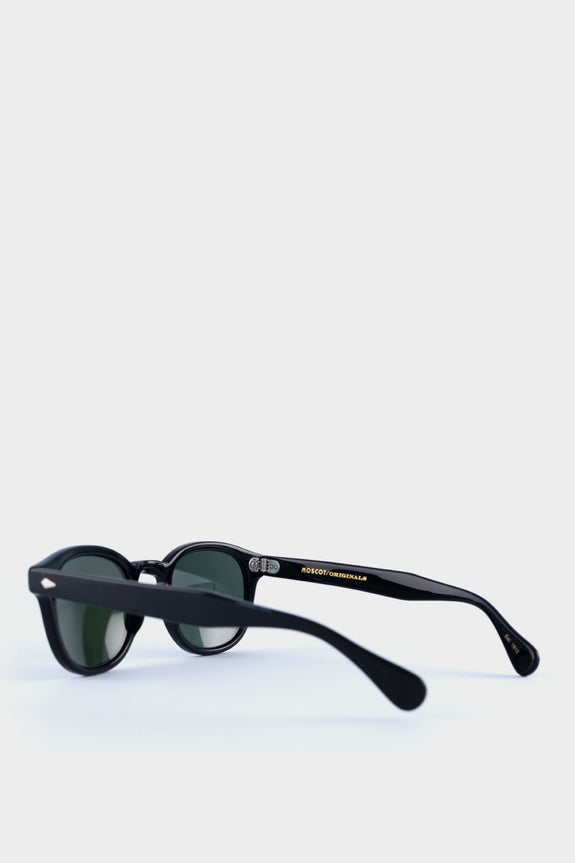 Moscot Lemtosh Black With Green Lens