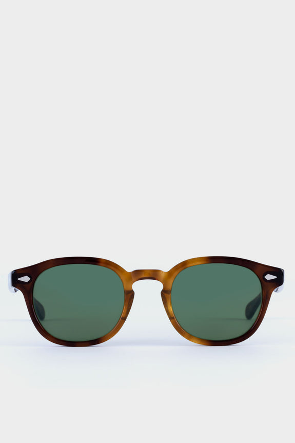 Moscot Lemtosh Tobacco With Green Lens