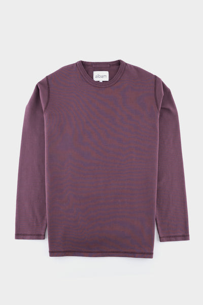 Albam Mid Weight Sweatshirt Plum