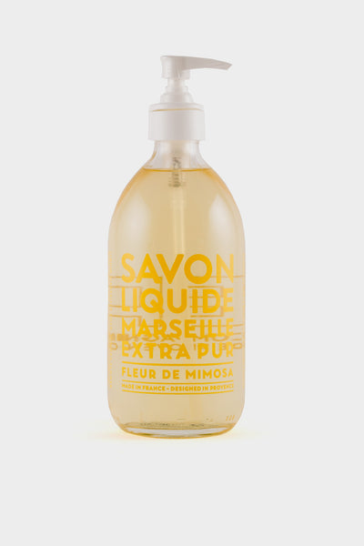 Compagnie De Provence: Mimosa Flower Liquid Soap 495ml