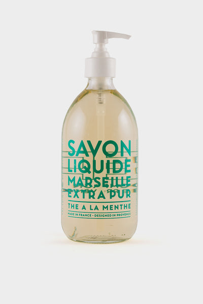 Compagnie De Provence: Mint Tea Liquid Soap 500ml