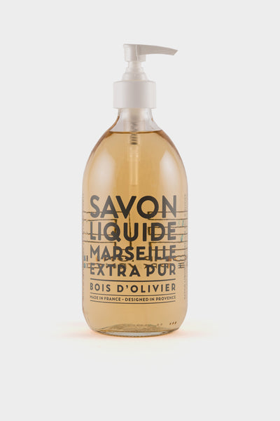 Compagnie De Provence: Olive Wood Liquid Soap 500ml