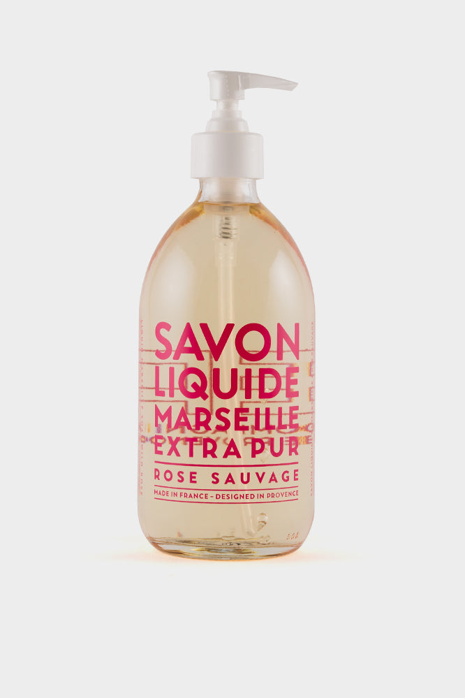 Compagnie De Provence: Wild Rose Liquid Soap 500ml