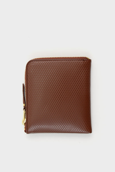 Zip Wallet Luxury Brown -  - 1