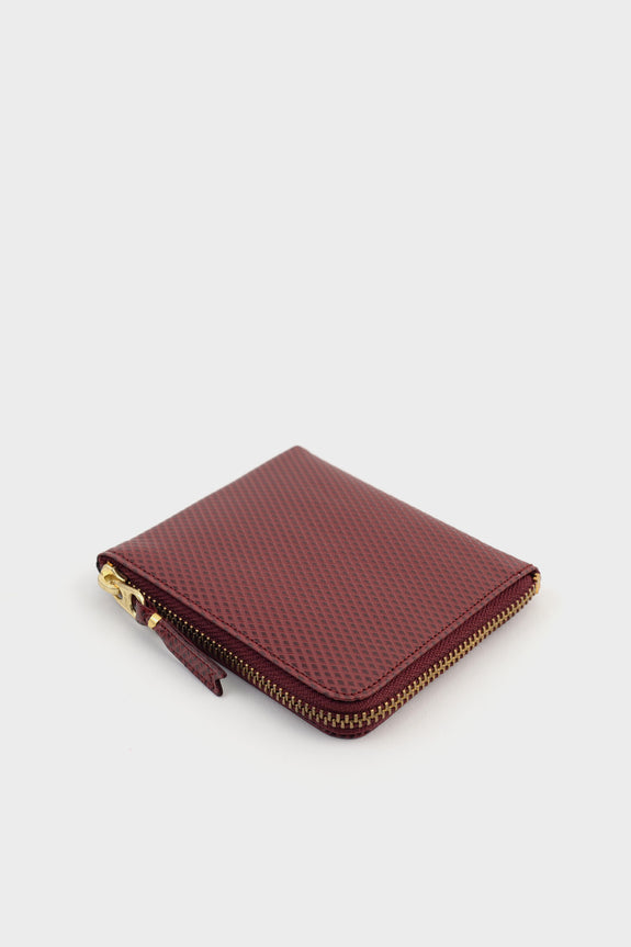 Zip Wallet Luxury Burgundy -  - 2