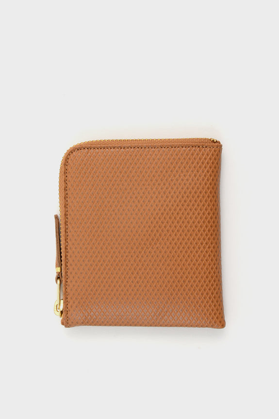 Zip Wallet Luxury Tan -  - 1