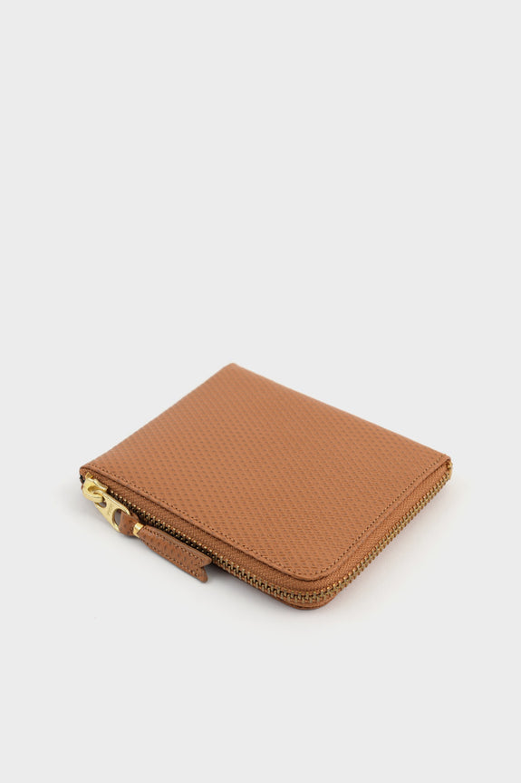 Zip Wallet Luxury Tan -  - 2