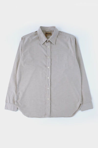 Nigel Cabourn Lybro Basic Oxford Light Tan