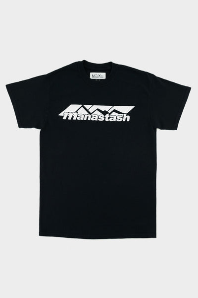 Manastash Mountain Logo S/S T-Shirt Black