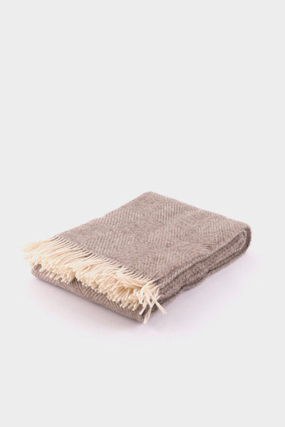 Lapuan Kankurit Maria Blanket Brown -