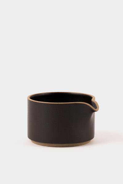 Hasami Porcelain Milk Pitcher Black