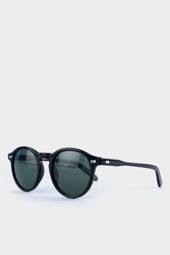 Moscot Miltzen Black With Green Lens