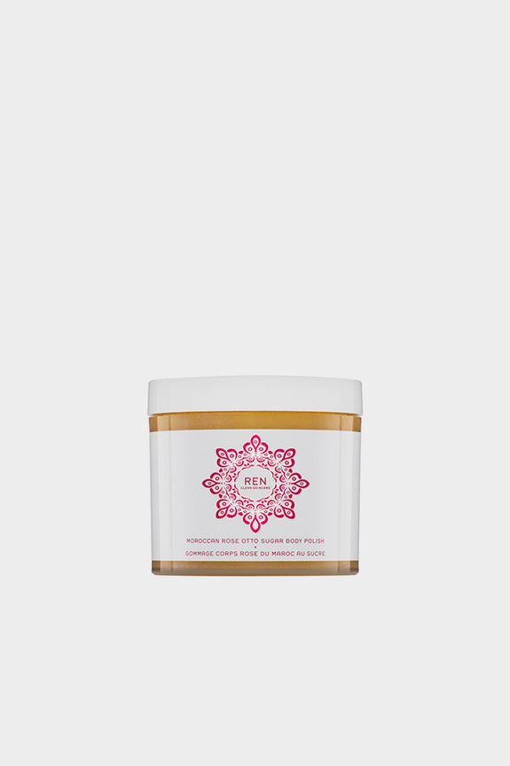 REN Moroccan Rose Otto Sugar Body Polish 330ml -