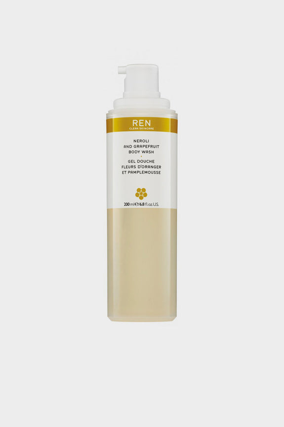 REN Neroli and Grapefruit Body Wash 200ml -