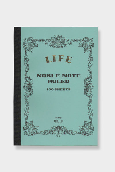 Life Co. Blued Ruled B5 Noble Notebook -  - 1