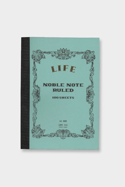 Life Co. Blue Ruled B6 Noble Notebook -  - 1