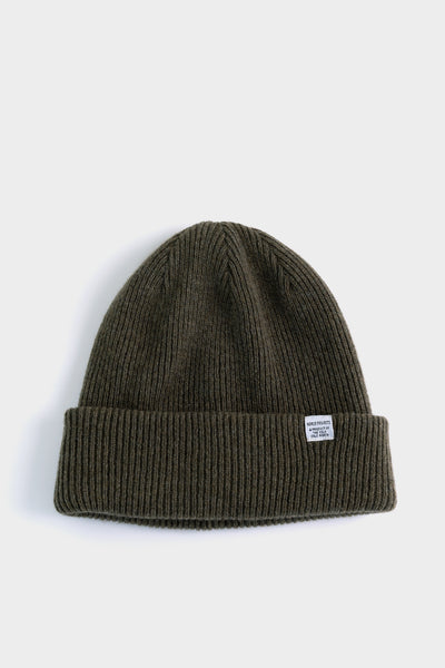 Norse Projects Beanie - Ivy Green