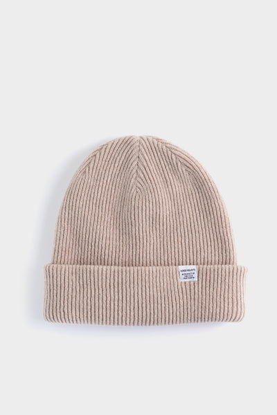 Norse Projects Beanie - Utility Khaki
