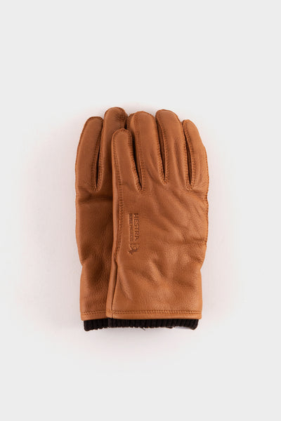 Norse Projects X Hestra Utsjo Elk Skin Gloves Tobacco