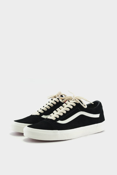 Vans Old Skool Suede Black Herringbone Lace