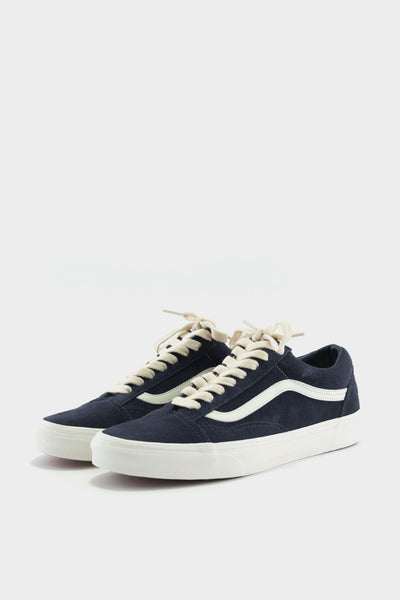 Vans Old Skool Suede Navy Herringbone Lace