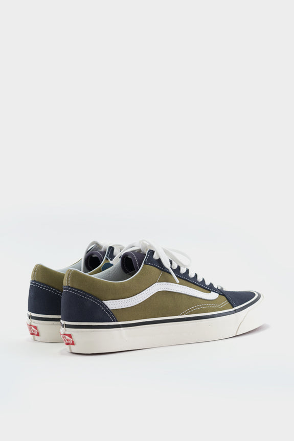 Vans Old Skool 36 Anaheim Navy Green