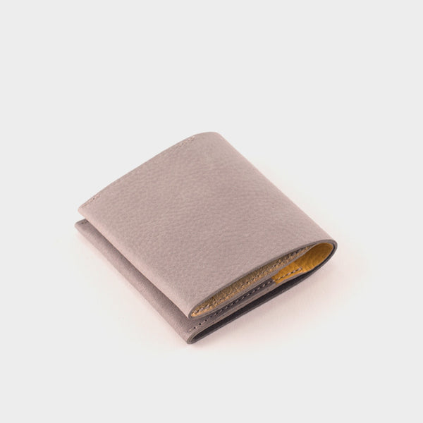 Ally Capellino Oliver Wallet: Grey/Yellow -  - 1