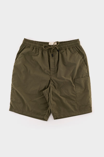 Folk Painters Shorts Olive