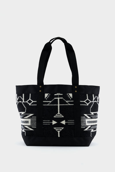 Pendleton Tote Bag Black White