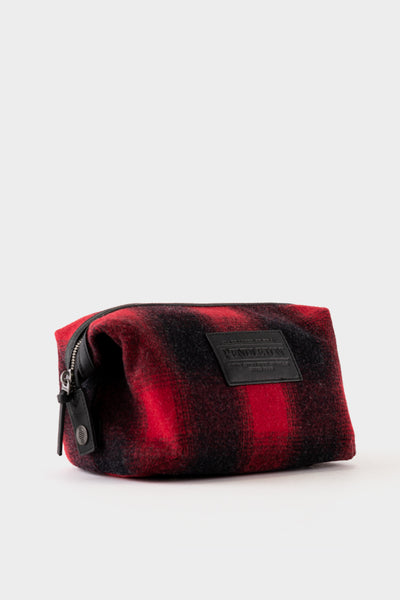 Pendleton Essentials Pouch - Red Check