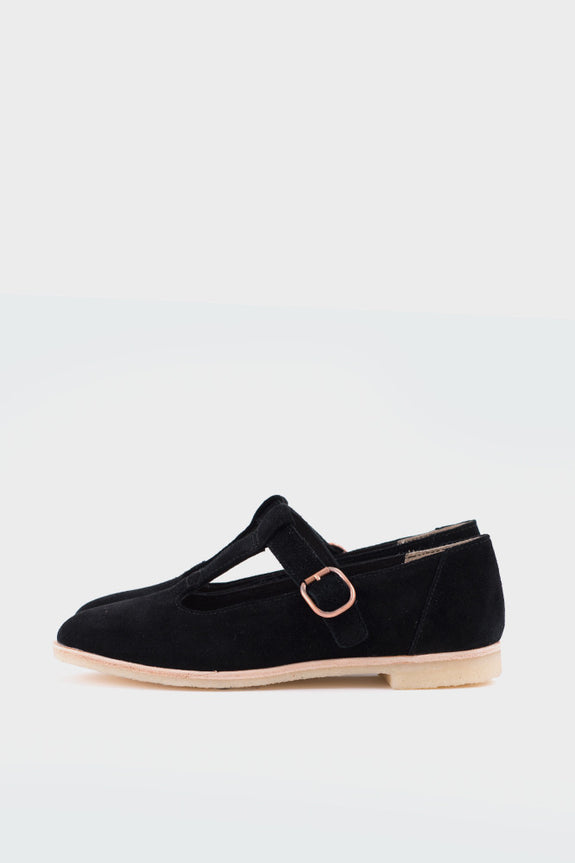 Phenia Eve Black Suede -  - 1