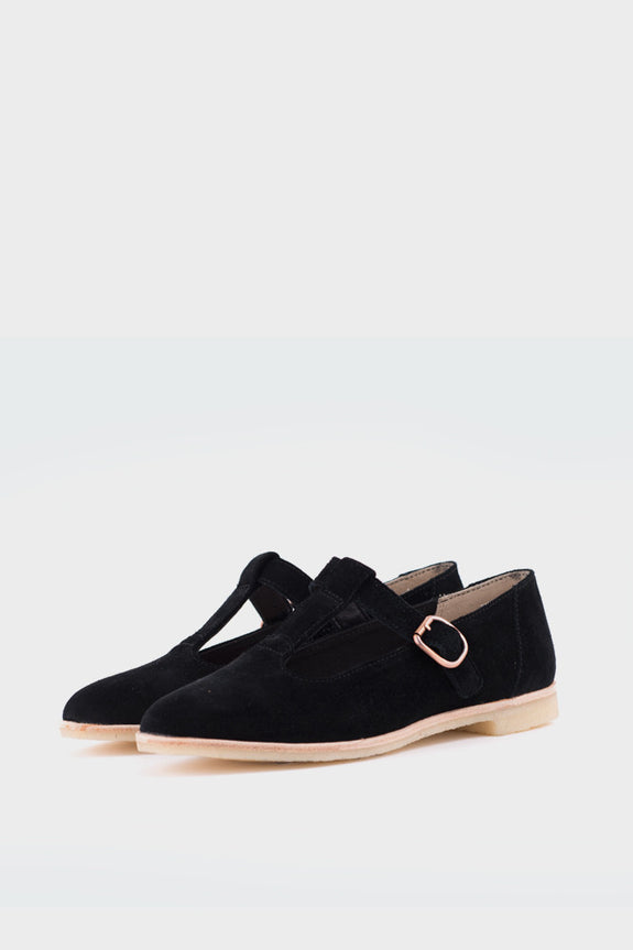Phenia Eve Black Suede -  - 2