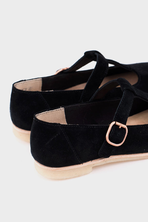 Phenia Eve Black Suede -  - 4