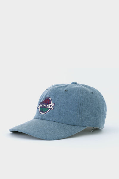 Stussy Pigment Washed Low Pro Cap Blue