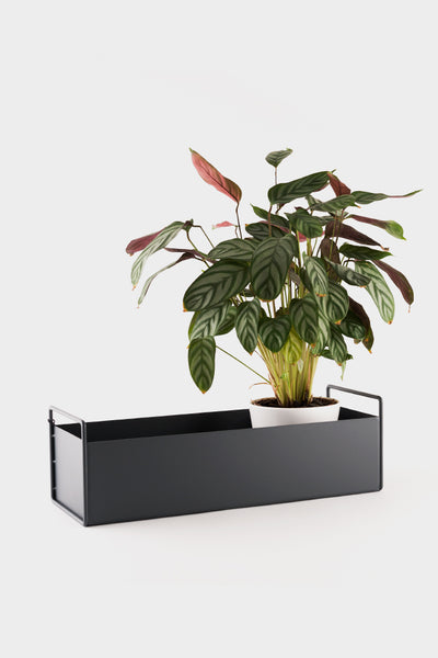 Ferm Living Plant Box - Dark Grey - Small