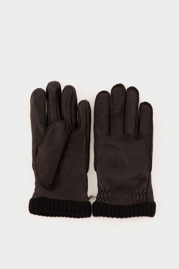 Deerskin Primaloft Gloves Black -