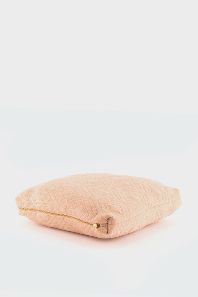 Ferm Living Quilt Cushion: Camel -  - 1