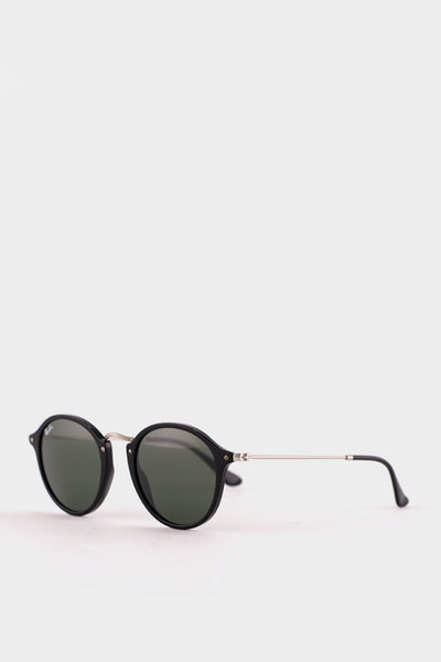 Ray-Ban Black and Silver RB2447 -
