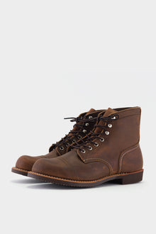 Red Wing Iron Ranger Copper Rough and Tough
